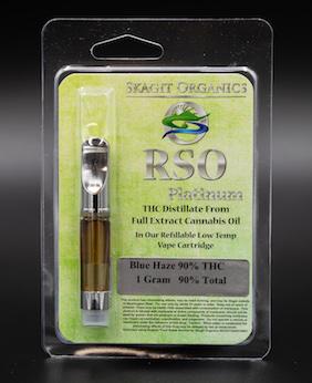 RSO Platinum Vapor Cartridge
